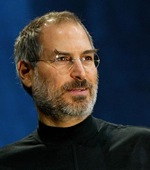 Steve Jobs: encumbered with beardiness